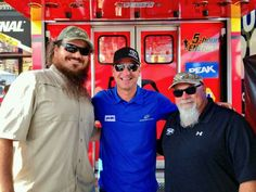 Martin & Godwin with Clint Bowyer