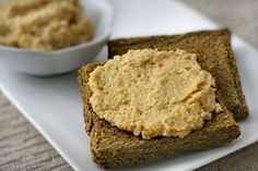 This is a delicious plant-based cheese spread that is perfect for crunchy crackers or fresh veggies.
