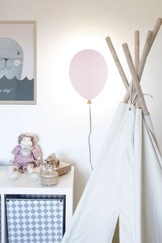 Balloon wall lamp from Globen Lighting by Patrick Hall