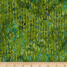Bali Batiks Handpaint Beaded Curtain Juniper