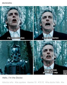 The Doctor and the Mondasian Cybermen. The Doctor Falls. Doctor Who series 10 season 10 Twelfth Doctor Peter Capaldi Bill Potts Pearl Mackie Michelle Gomez John Simm