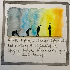 """Avoiding pain = avoiding life. I could go on&on about how many people nowadays seem to strive for a life of comfort with as little """"negative"""" feelings as possible. Every emotion teaches us something, every moment is precious. If we try to resist change for too long (even when things are good) we tend to get depressed. This is one of the paradoxes of existence: we need change, but we want life to stay as it is when it feels good. Learn how face life courageously with Positive Existential Coaching Agent Of Change, Free Advice, To Strive, Talk To Me, Inspire Me, Personal Development, Feel Good, Psychology, Coaching"""