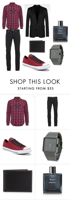 """Set9"" by comidina ❤ liked on Polyvore featuring Superdry, Paul Smith, Converse, Nixon, Neiman Marcus, Chanel, Emporio Armani, men's fashion and menswear"