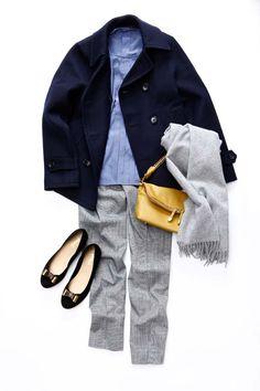 ルミネ池袋のアイテムで「コストパフォーマンス大の年末お仕事服」コーディネイトのレッスン!カジュアルなPコートを通勤仕様に着る!人気スタイリスト田沼智美さんがシンプルでかわいいをテーマに、毎日のコーディネイトに役立つアドバイスをお伝えします。