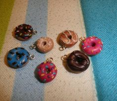 Donuts, fimo, polymer clay