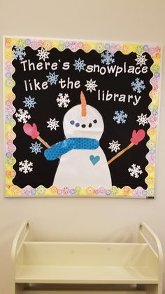 Winter bulletin board for Kindergartener work to be added to! Winter bulletin board for Kindergartener work to be added to! Christmas Library Bulletin Boards, College Bulletin Boards, Kindergarten Bulletin Boards, Halloween Bulletin Boards, Reading Bulletin Boards, Winter Bulletin Boards, Bulletin Board Display, Winter Bulliten Board Ideas, January Bulletin Board Ideas