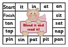Debbie's Resource Cupboard: satpin, blend it and read it