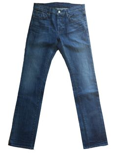 Anthropologie Koral Men's Button Fly Slim Jeans in Lived in 12 Months, Size 34x34