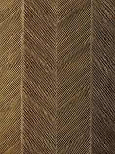 DecoratorsBest - Detail1 - Sch 5005653 - Chevron Texture - Burnished Bronze - Wallpaper - - DecoratorsBest