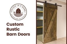Sliding rustic barn doors are a perfect decorative supplement for most interior design styles. What makes our rustic barn doors even more unique is they are built from repurposed barn wood. Read about our custom, hand-crafted rustic barn doors. We make one-of-a-kind furniture pieces meant for any style room or office.   #Barn Wood Furniture #barnwood furniture #Barnwood Furniture for Sale #Beetle kill furniture #Blue Pine Furniture