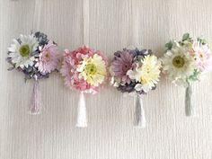 100均苔玉や造花でつくる春のフラワーボール♡|暮らしニスタ