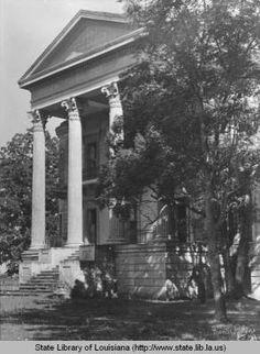 Belle Grove plantation home near White Castle Louisiana :: State Library of Louisiana Historic Photograph Collection