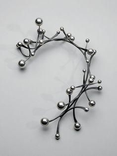 design-is-fine: Art Smith, Galaxy neckpiece, 1960. Silver. Museum of Fine Arts, Boston. Via artnews