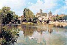 Moret-sur-Loing, about an hour away from Paris, is a medieval town and is known as one of the most beautiful French villages. The painter, Alfred Sisley, loved the place.