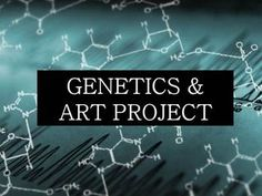 Biology: Genetics & Art Project FREE download! If you like this project idea, sign up to follow my other teacher ideas!
