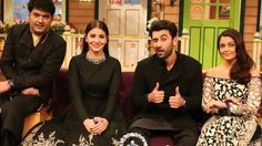 Ranbir Kapoor on The Kapil Sharma Show 22 October 2016 Episode promotes Ae Dil Hai Mushkil