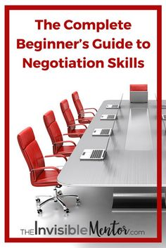 Negotiation skills is among the top 10 skills to thrive in 2020. To learn and master negotiation skills, I have curated articles, SlideShare presentations,and videos for you to read and view! Click through to see The Complete Beginner's Guide to Negotiation Skills.