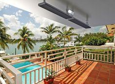 Casatherm heatpanel, elegante oplossing als terrasverwarming