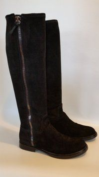 Miu Miu Side Zip Suede Over The Knee Es 39,5 Black Boots Size: 8.5Condition: Gently used 74% off Retail $995.00 $250.00