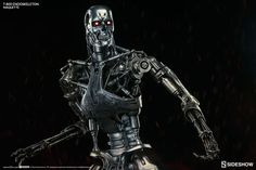 The Terminator T-800 Endoskeleton Maquette is available at Sideshow.com for fans of The Terminator films and Sci-Fi collectibles.