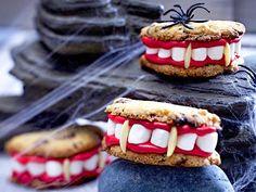 Halloween-Rezepte - schaurig-schöne Leckereien - draculas-cookies  Rezept