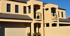 Cement Rendering Experts In Sydney. Acrylic Cement Rendering Services In Sydney. Cement Render, Places To Visit, Mansions, House Styles, Home Decor, Mansion Houses, Homemade Home Decor, Villas, Luxury Houses