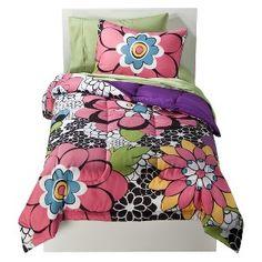 Target - Pop Flower Comforter Set