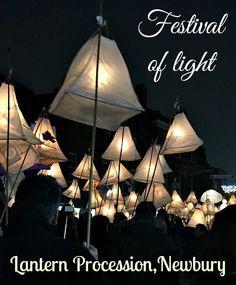 Lantern procession Newbury