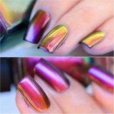 """Cameo"" multichrome nail polish by ILNP"