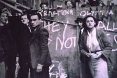 The Battle of Cable Street - 'They shall not pass'