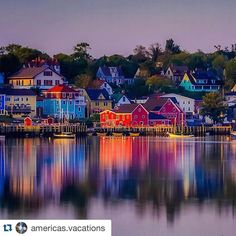 #Repost @americas.vacations   Location: Lunenburg Canada Photo Credit: @theplanetd  Hashtag your photos with: #americas_vacations  Visit our other sister pages: @france.vacations | @italy.vacations