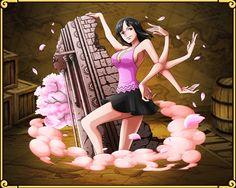 Nico Robin Cherry Blossoms Falling