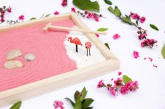 Save this Mother's Day DIY project to make a mini zen garden to gift to your mom.