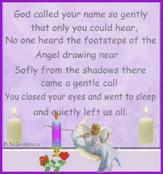 God called You home