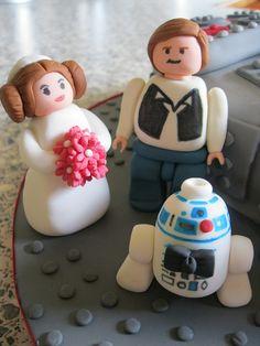 Lego Princess Leia & Han Solo Bride