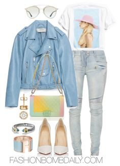 winter-2017-style-inspiration-4-chic-super-bowl-outfit-ideas-zara-faux-leather-jacket-balmain-destroyed-biker-jeans-christian-louboutin-so-kate-patent-leather-pumps-chanel-rainbow-boy-bag