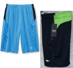 c054c44e Everlast Boys Athletic Shorts Polyester Basketball Kids size S-8 M 10-12 NEW