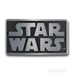 Images of Star Wars Logo Belt Buckle