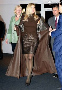 Maxima et son style.  Totally cool outfit.