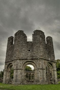 Lavabo at Mellifont Abbey, Co Louth, Ireland