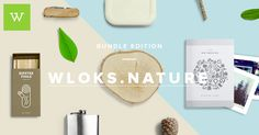 Wloks Nature contains 53 beautiful icons, 49 great Mockups, 51 photos that you can combine. Every item is available in PSD.