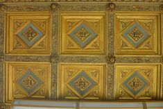 Woolworth Building gold ceiling