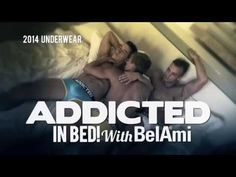 ADDICTED in Bed with BelAmi video on YouTube #video #models #underwear