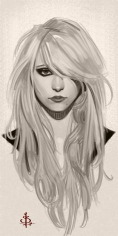 Timed Head Sketch 347 by on deviantART gossip girl Character Inspiration, Character Art, Character Design, Illustrations, Illustration Art, Drawing Sketches, Art Drawings, Sketching, You Draw
