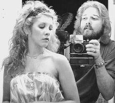 Stevie Nicks and photographer Herbert Worthington III