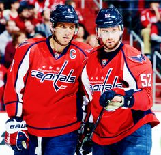 Alex Ovechkin and Mike Green • Washington Capitals