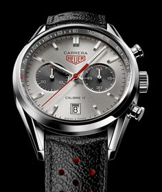 Heuer carrera Jack Heuer 80th birthday limited edition