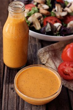 Smokey Tomato Vinaigrette: delicious on salad or drizzled on your favorite sandwich or wrap (gf, vegan).