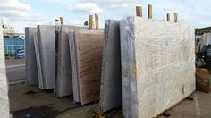 Latest pictures - Granite Slabs from Tilbury Stockyard
