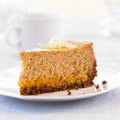 Ginger-Sweet Potato Cheesecake